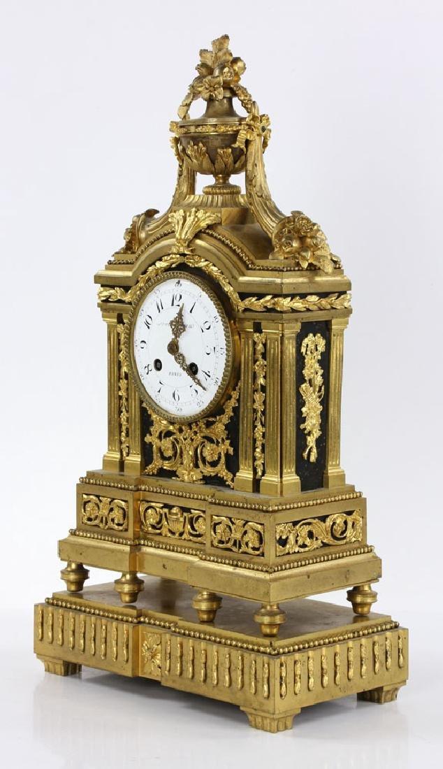 19th C. French Mantel Clock - 3