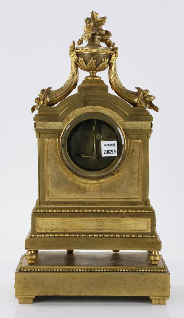 19th C. French Mantel Clock - 4