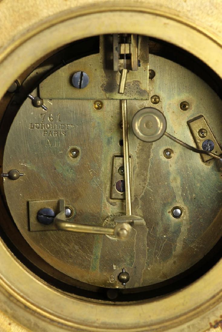 19th C. French Mantel Clock - 5