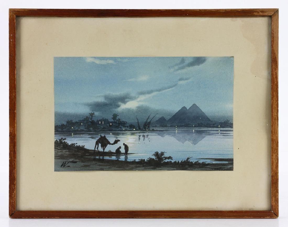 Weekes, Landscape, Watercolor