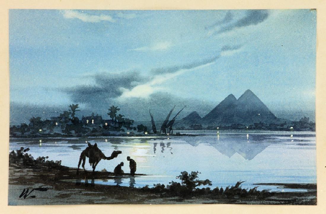 Weekes, Landscape, Watercolor - 2