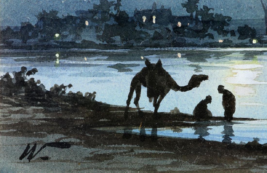 Weekes, Landscape, Watercolor - 3