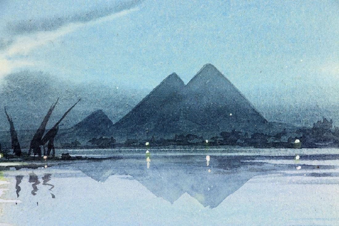 Weekes, Landscape, Watercolor - 4