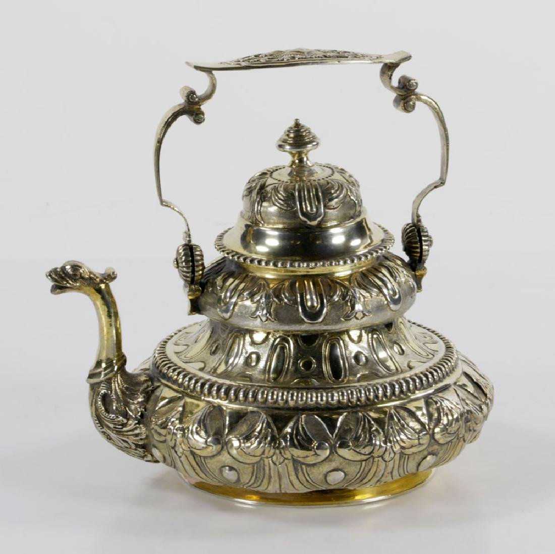 Dutch Sterling Tea Pot