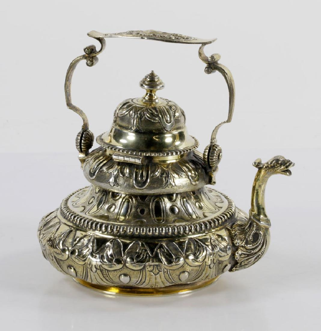 Dutch Sterling Tea Pot - 2
