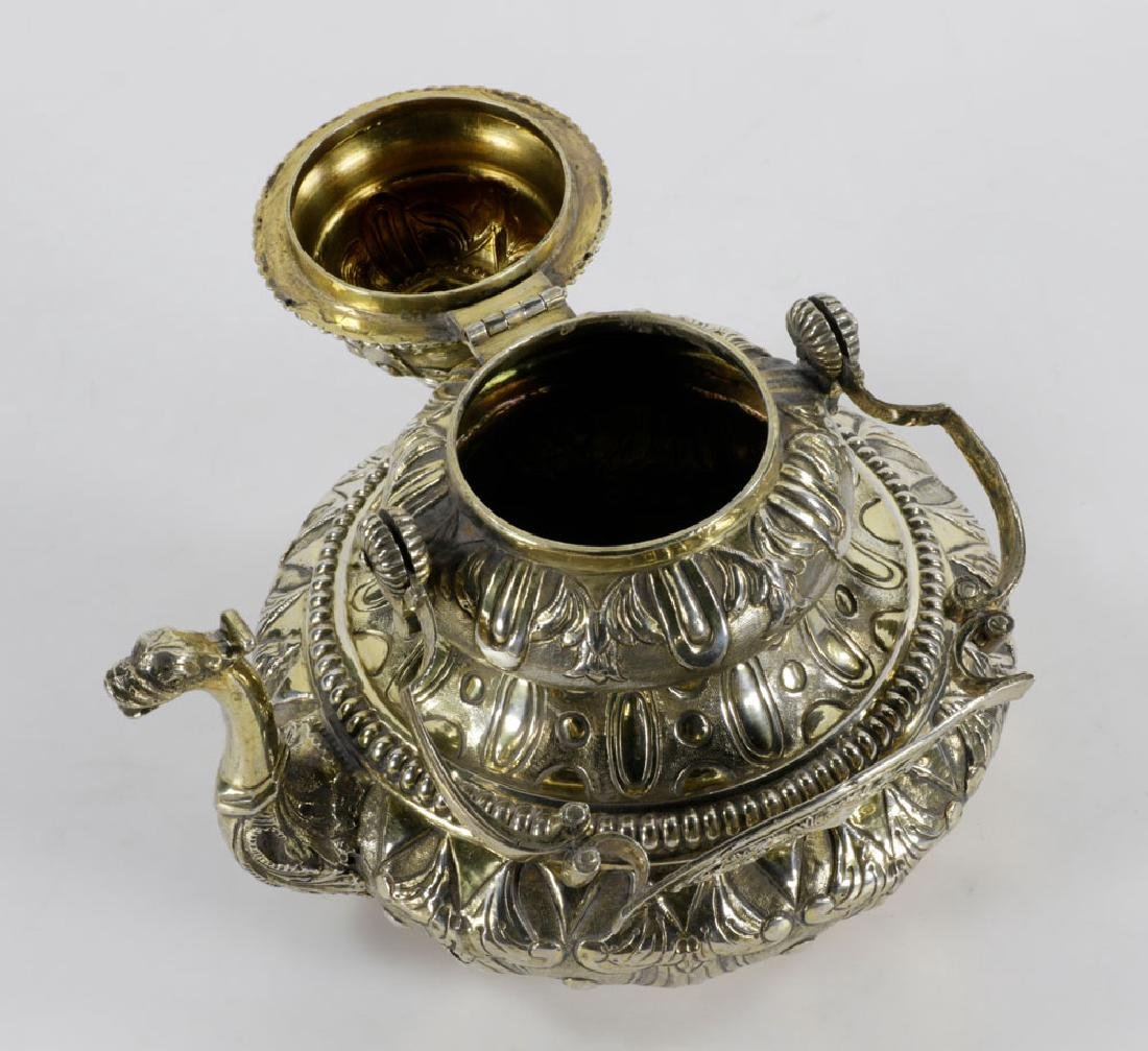 Dutch Sterling Tea Pot - 3