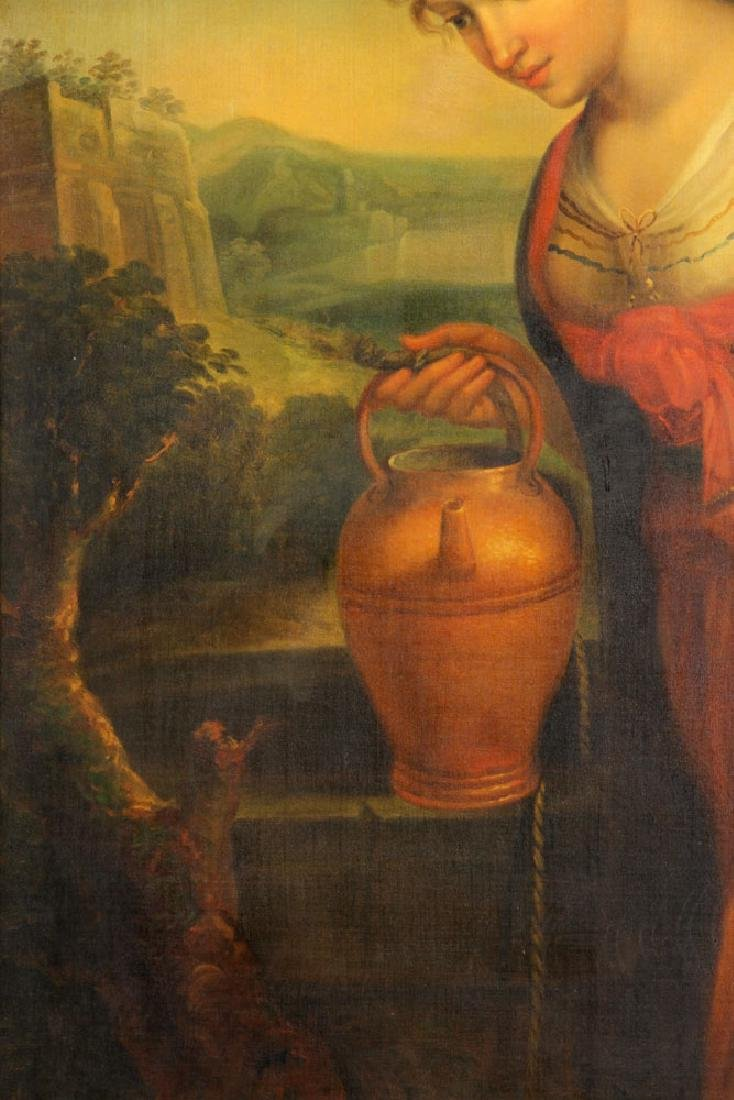 Rebecca at the Well, Oil on Canvas - 3