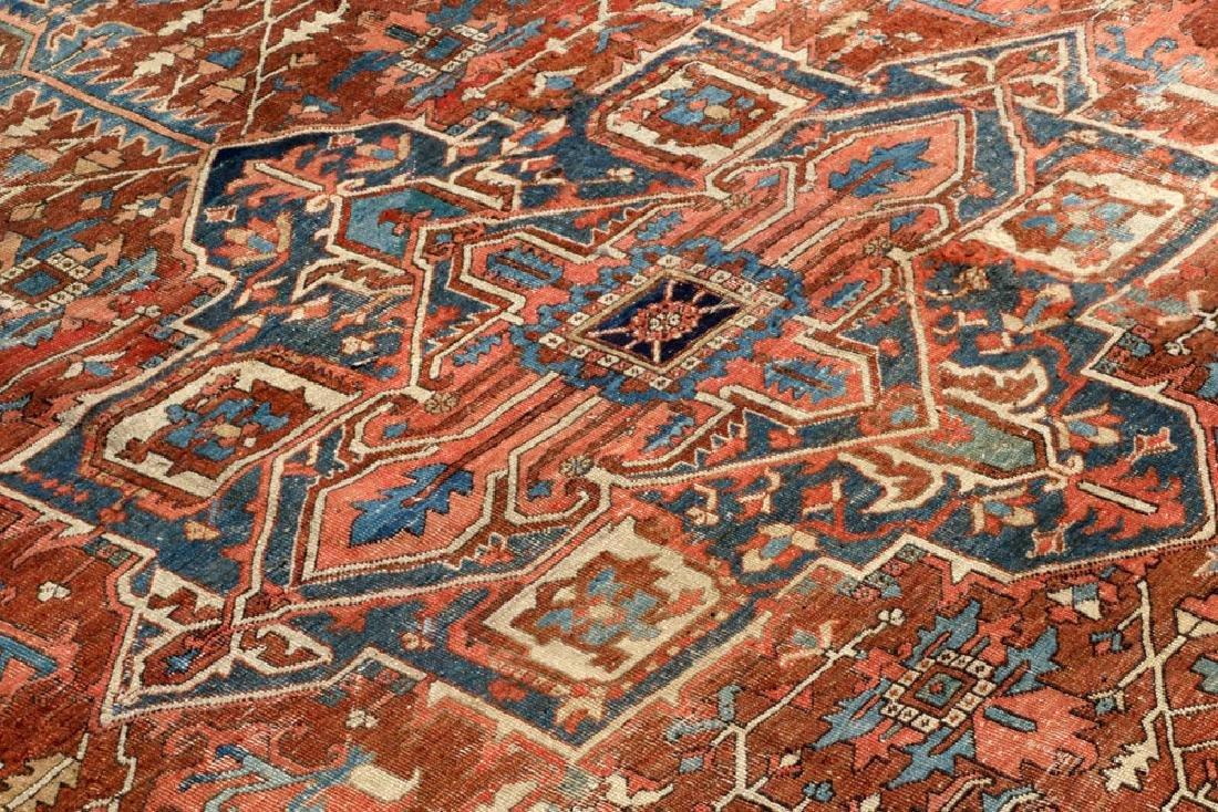 Antique Persian Heriz Carpet - 2