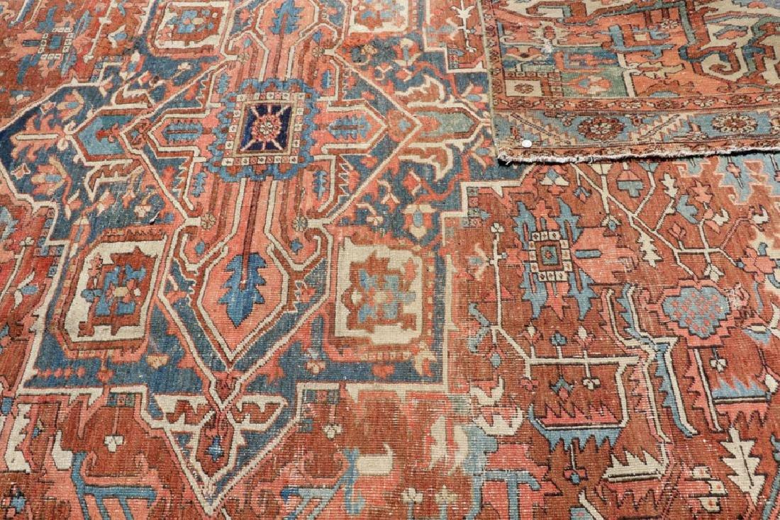 Antique Persian Heriz Carpet - 3