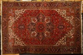 Semi-Antique Tabriz Carpet