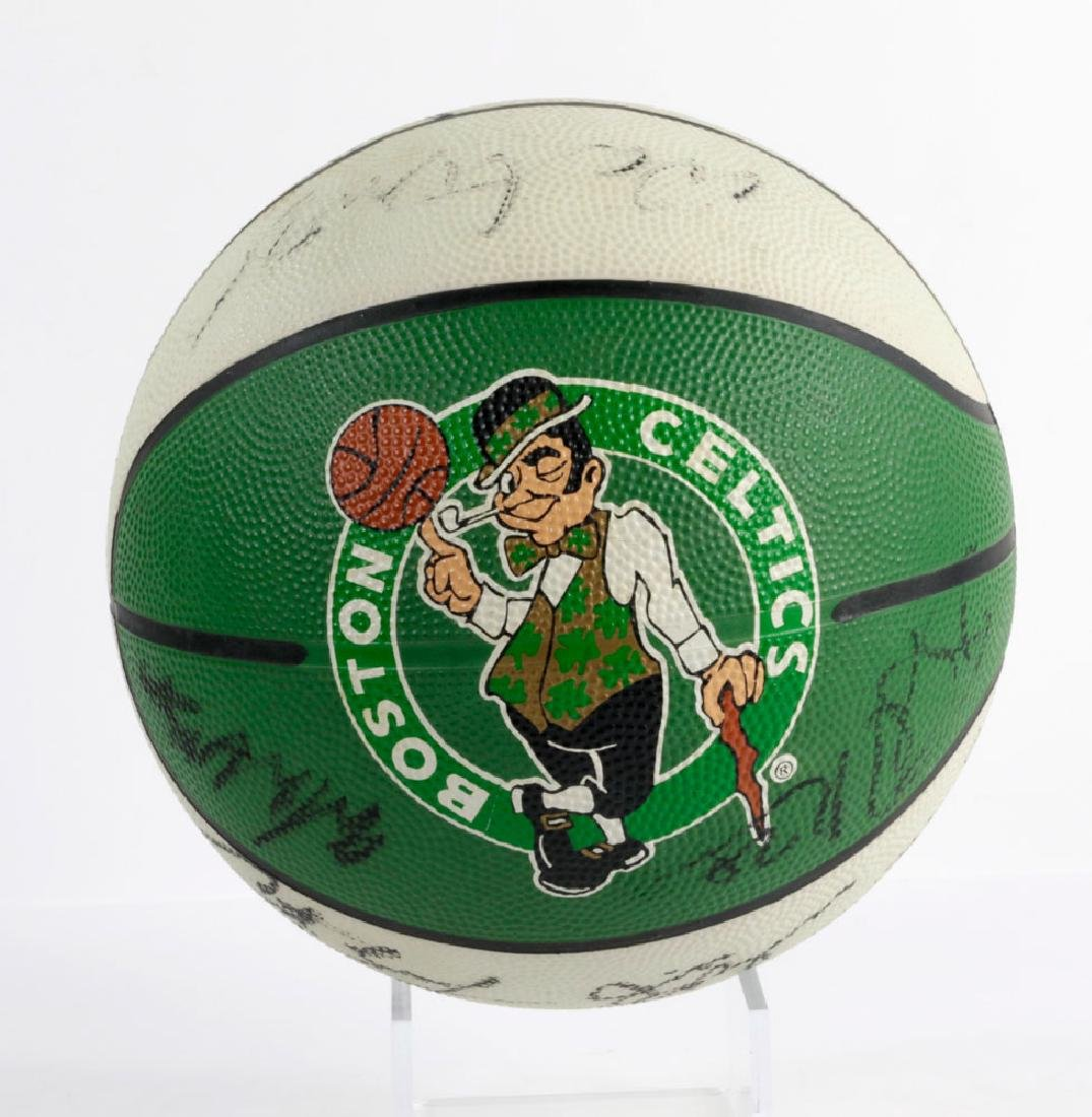 Signed Boston Celtics Basketball