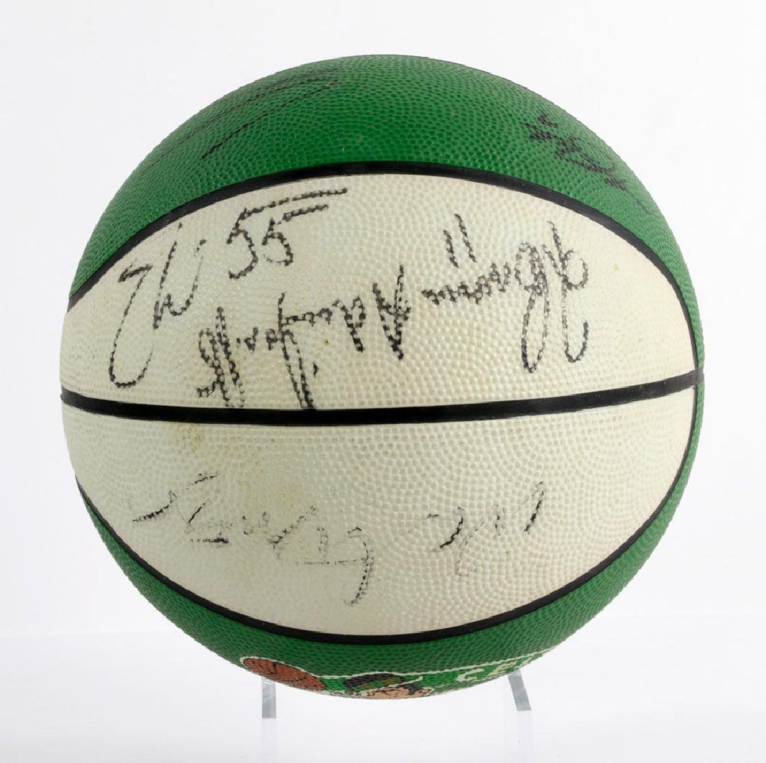Signed Boston Celtics Basketball - 2