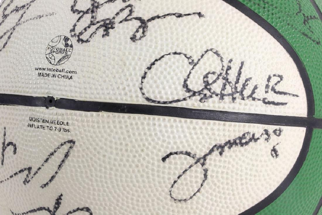 Signed Boston Celtics Basketball - 7