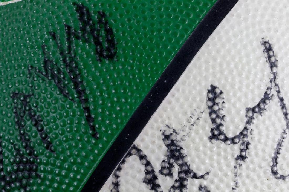 Signed Boston Celtics Basketball - 8
