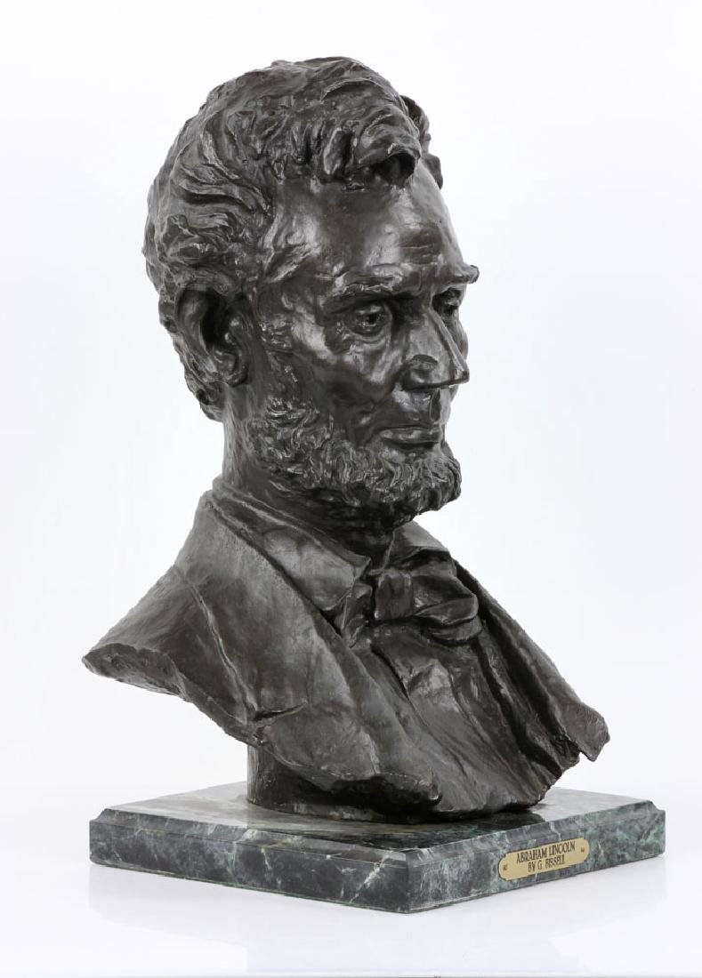 Signed Bust of Abraham Lincoln - 2