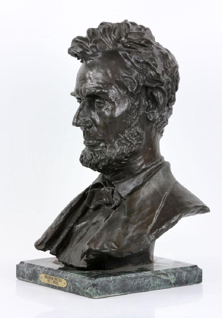 Signed Bust of Abraham Lincoln - 3