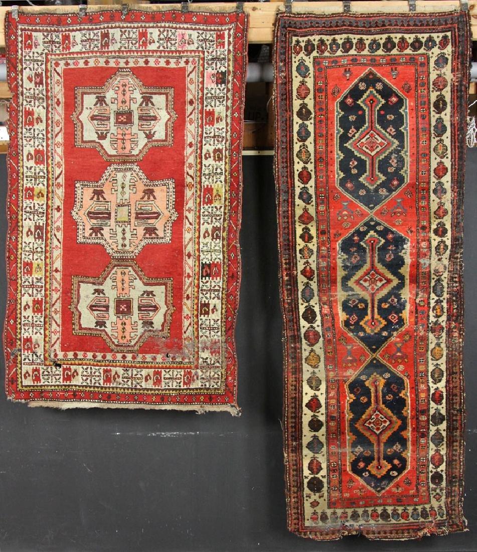 Antique Anatolian and Hamadan Carpets