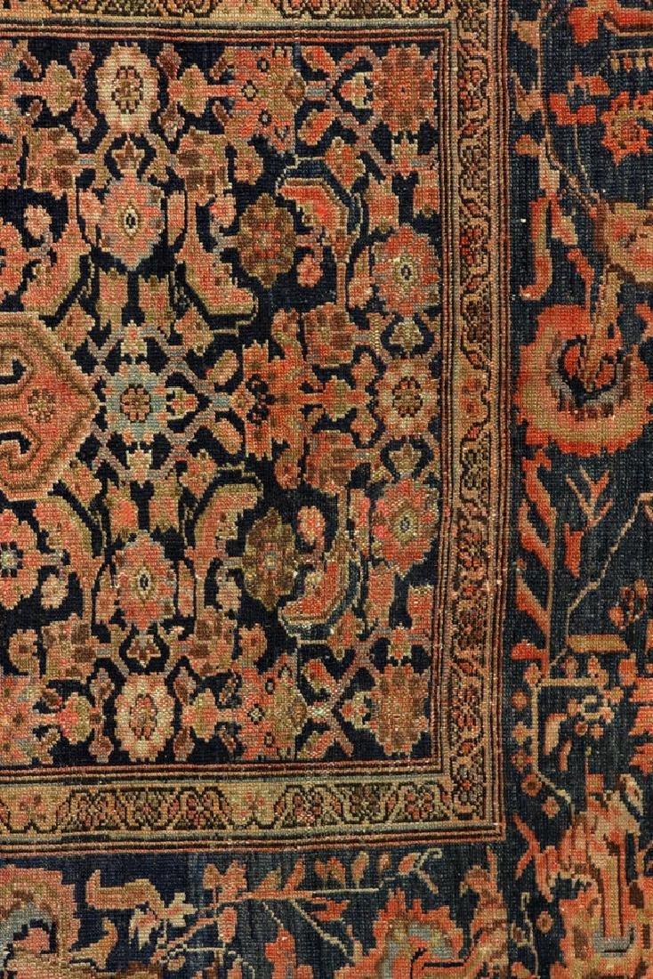 Antique Persian Tabriz Carpet - 3