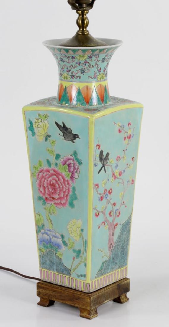 Pair of Porcelain Vase Lamps - 3