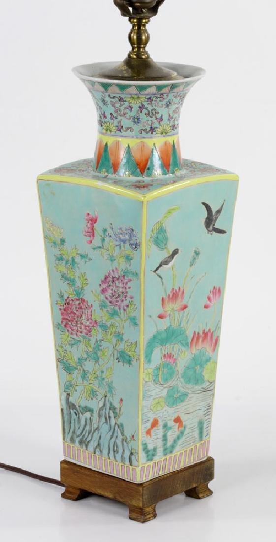 Pair of Porcelain Vase Lamps - 4
