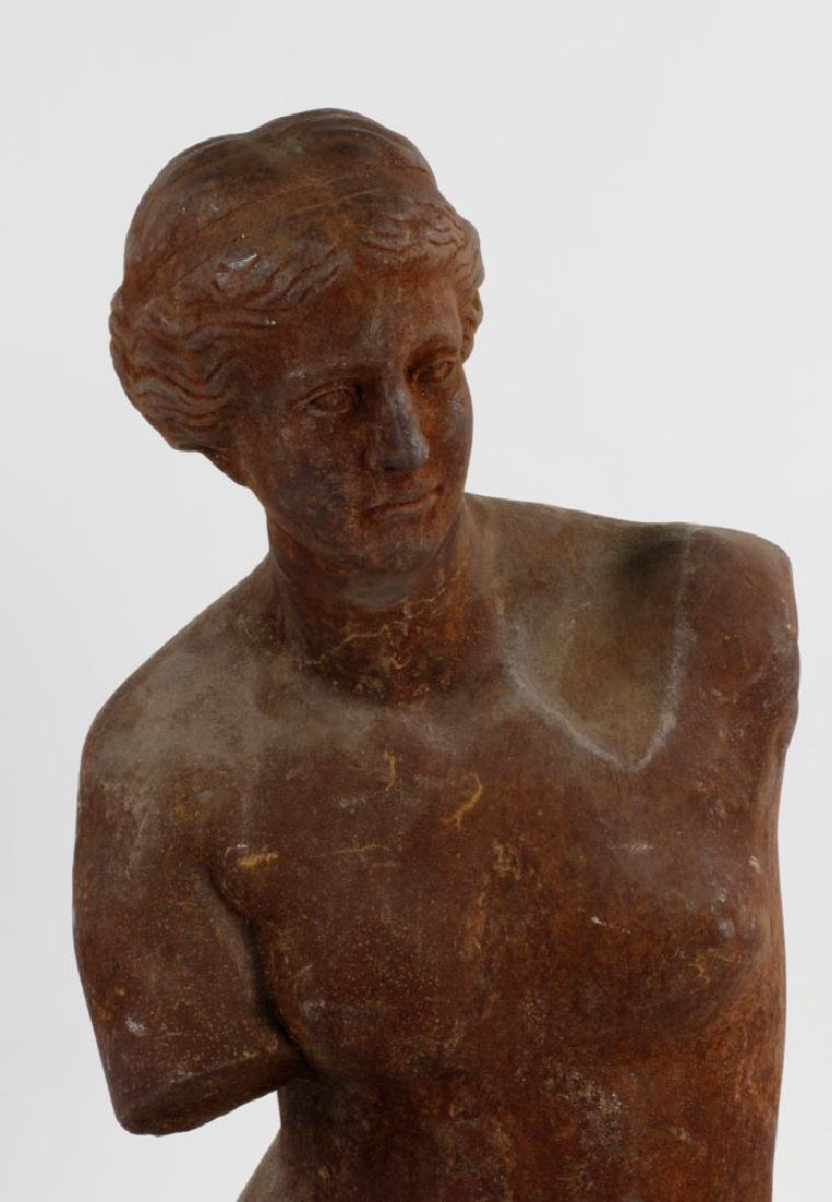Classical Style Sculpture of Women - 4