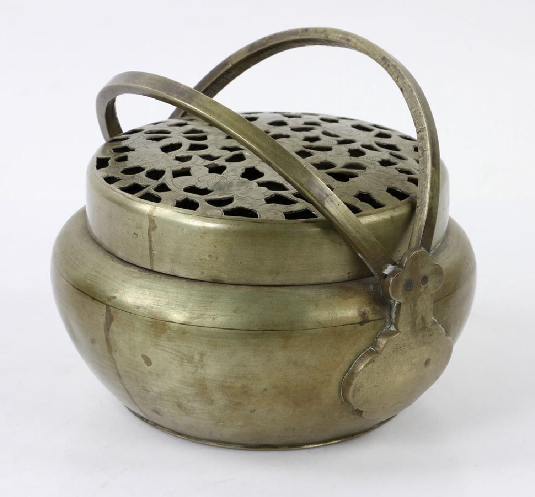 Chinese Bronze Hand Warmer - 3