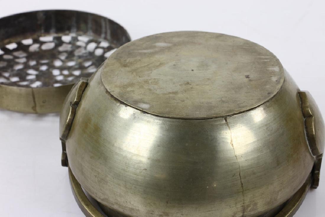 Chinese Bronze Hand Warmer - 6