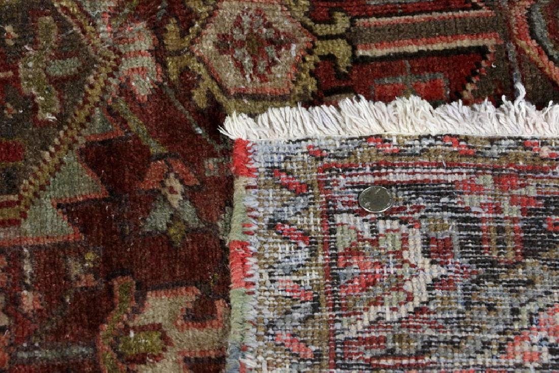 Antique Heriz Carpet - 5