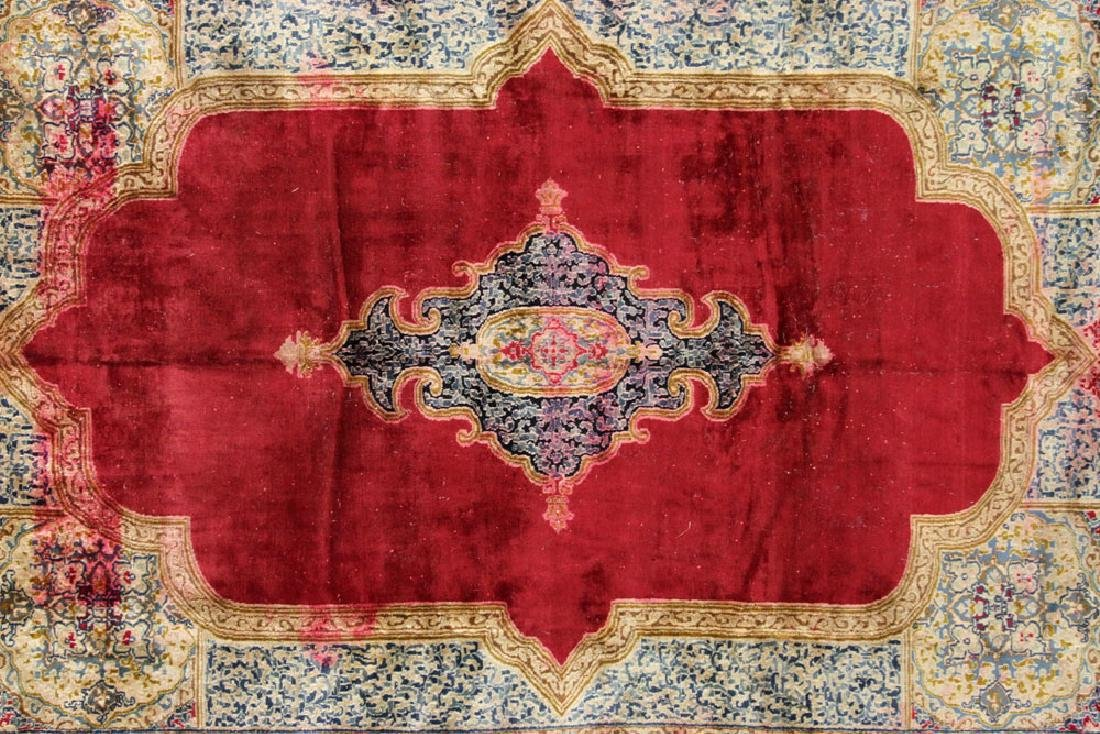 Persian Kerman Carpet - 2