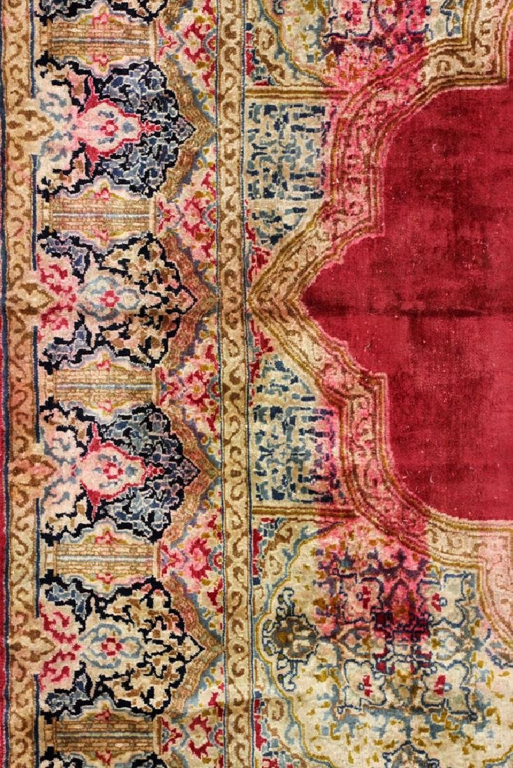 Persian Kerman Carpet - 3