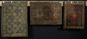 Three Tribal Caucasian Carpets