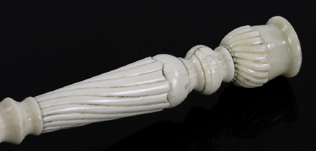 Pair of Bone Candlesticks - 6