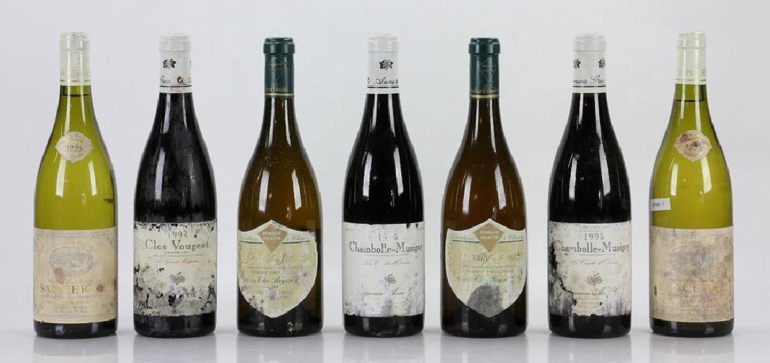 Seven Assorted Bottles of Wine
