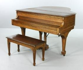 Kranich & Bach Baby Grand Piano
