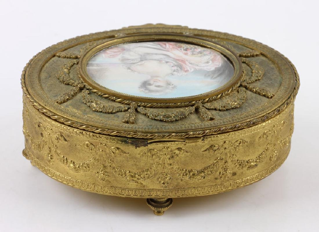 19th C. French Jewelry Box - 8
