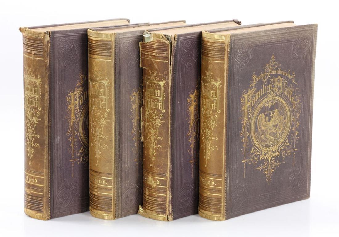 Zickel's Deutsch-Amerikanische Familien Blatter, 4 Vol.