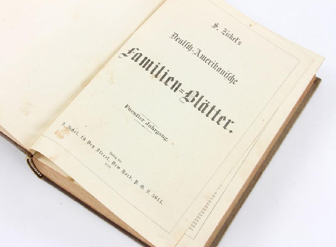 Zickel's Deutsch-Amerikanische Familien Blatter, 4 Vol. - 3