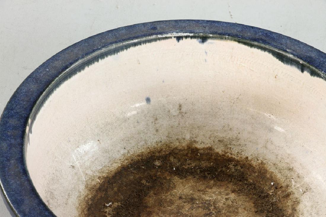 Mid-Century Chinese Pottery Jardiniere - 3