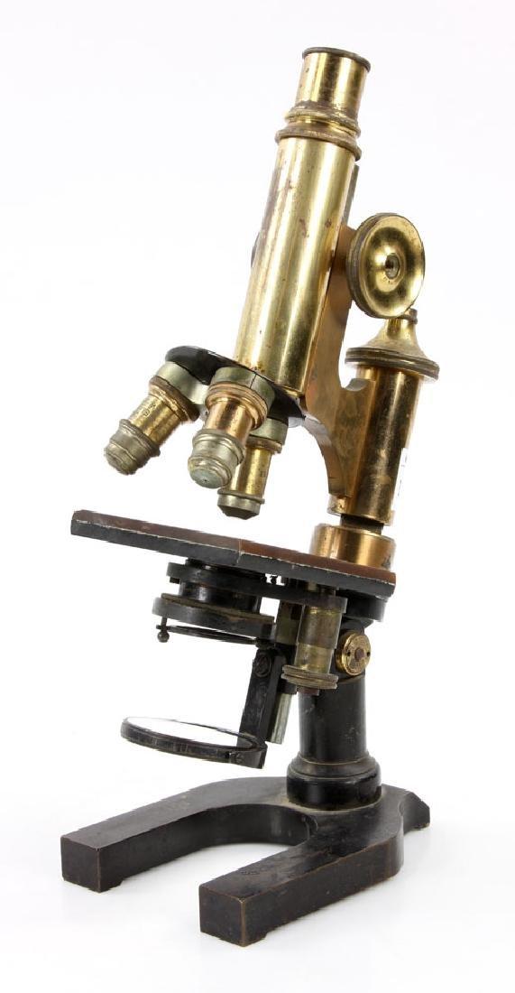 19th C. Brass Microscope