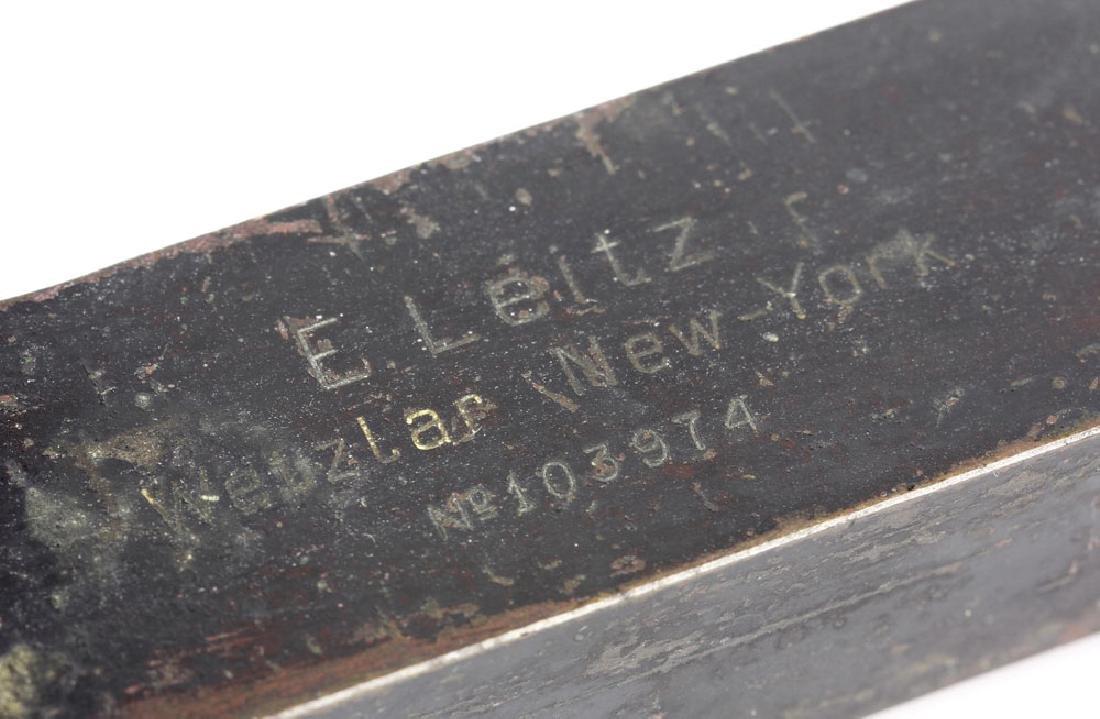 19th C. Brass Microscope - 8