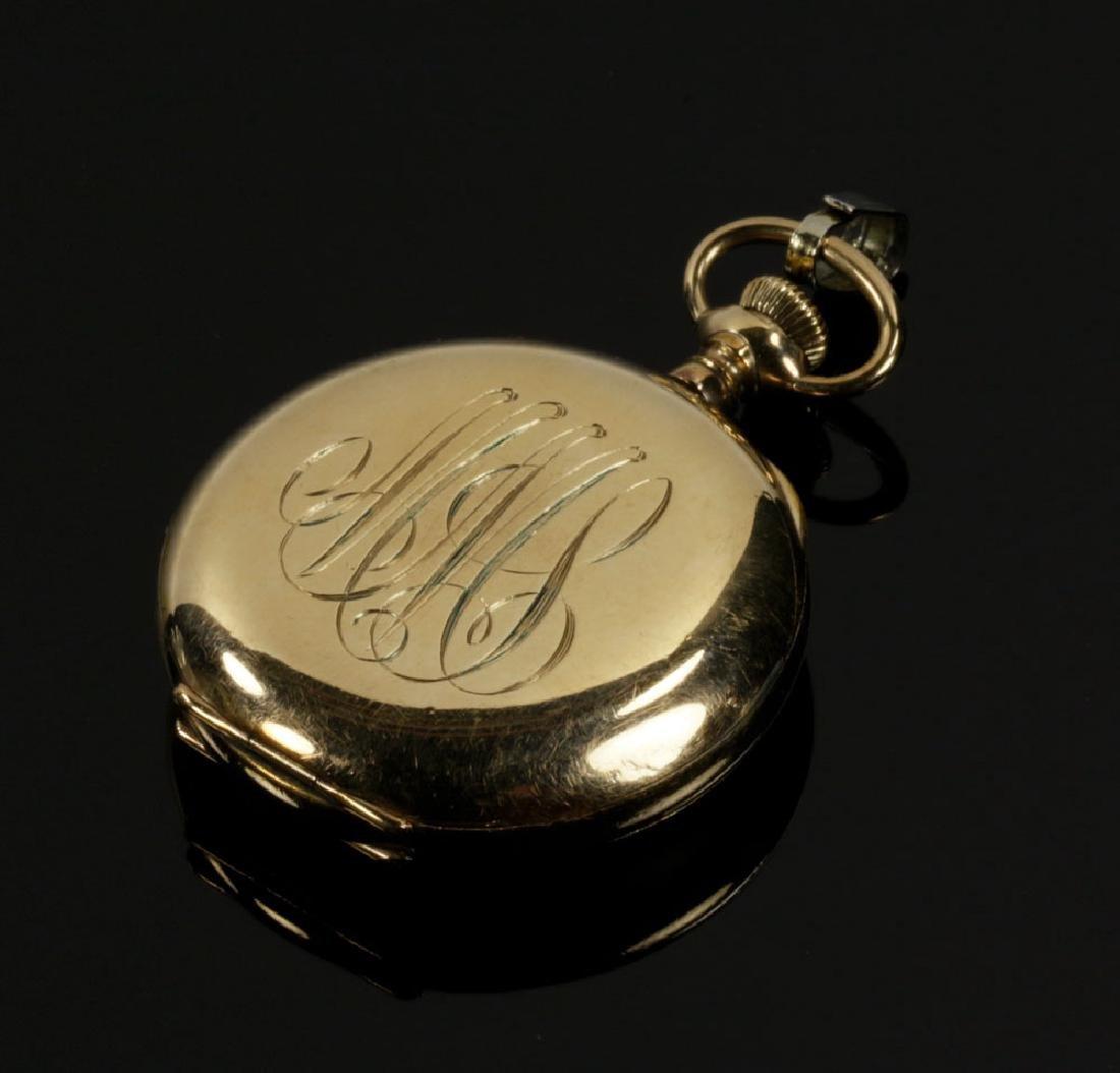Elgin Gold Filled Pocket Watch - 2