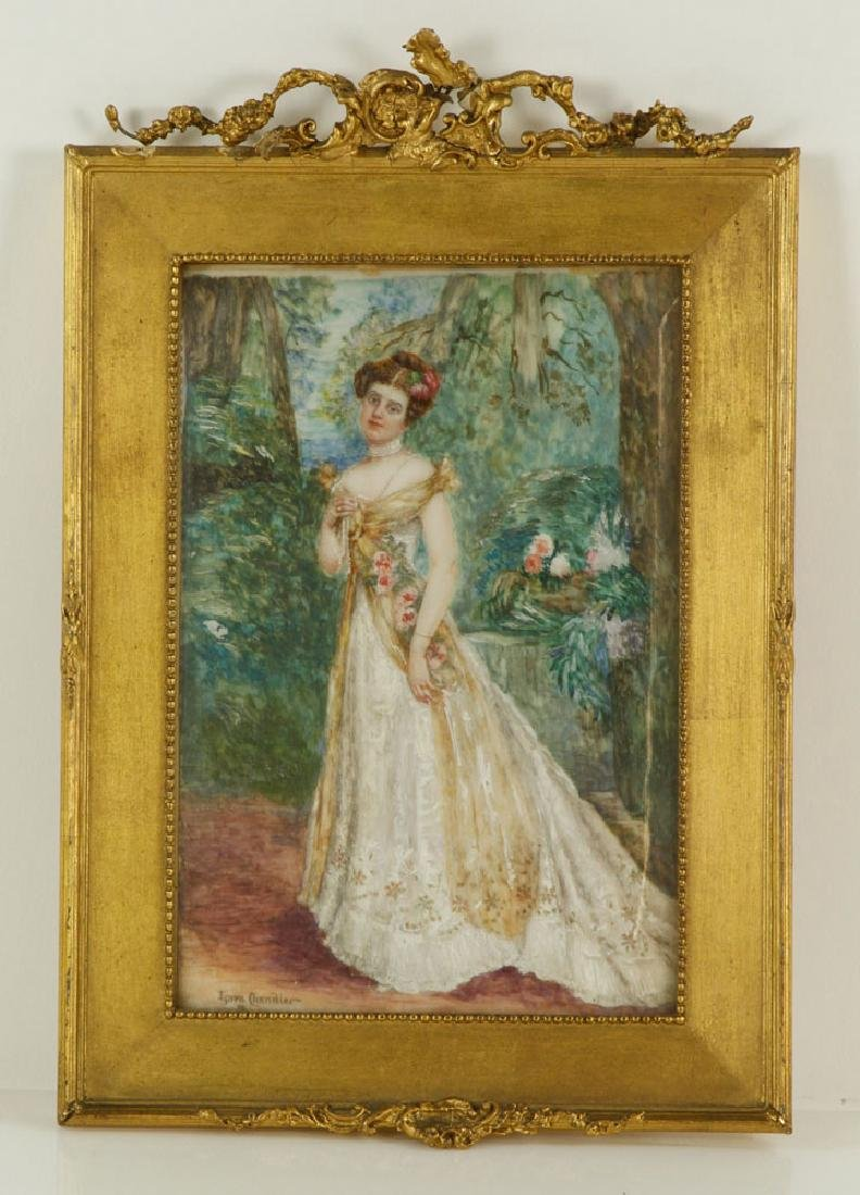 Chandler, Portrait of a Lady, Miniature on Ivory
