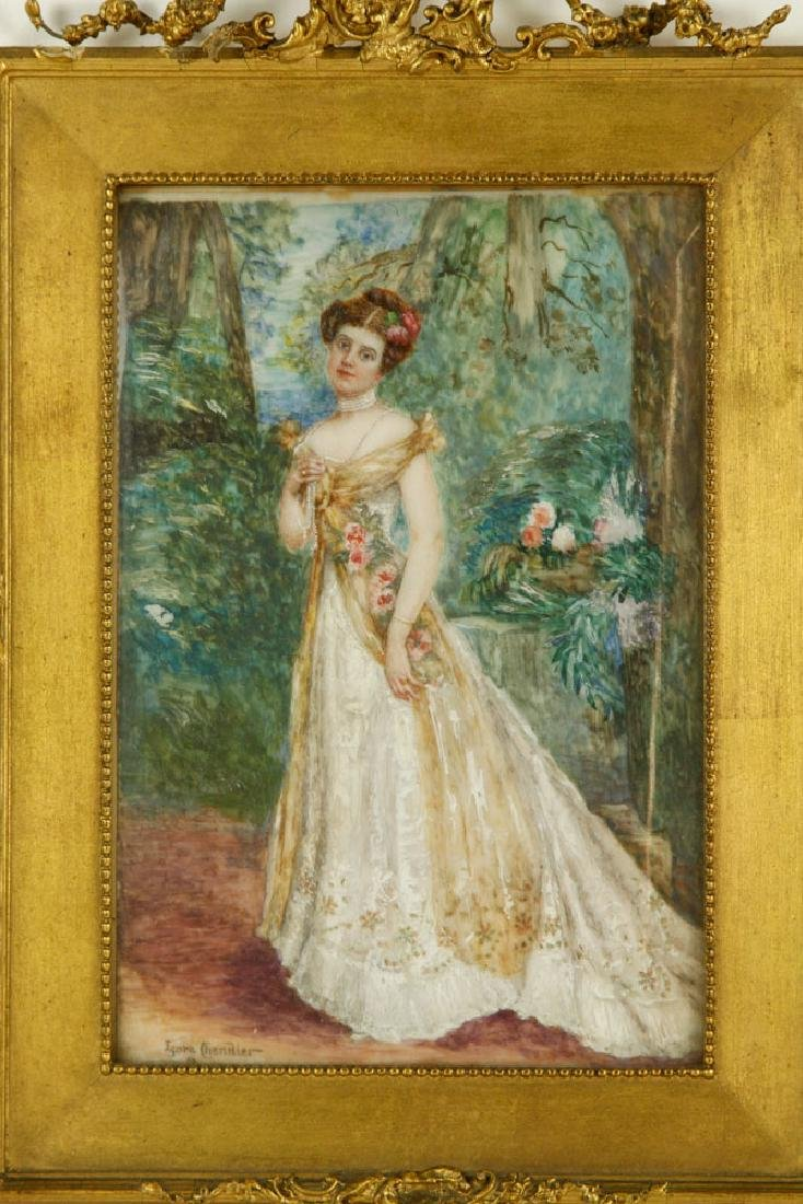 Chandler, Portrait of a Lady, Miniature on Ivory - 2