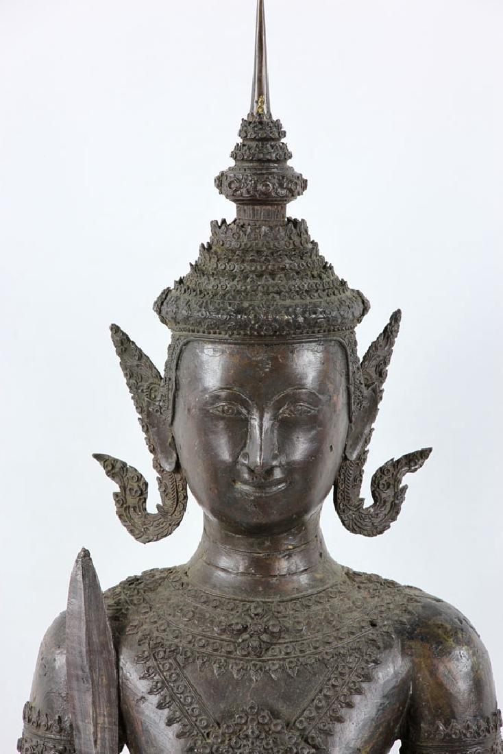 Thai Standing Guardian of Rattanakosin, Bronze - 2