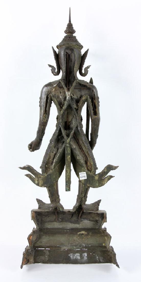 Thai Standing Guardian of Rattanakosin, Bronze - 6