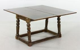 Mahogany Swing Top Table