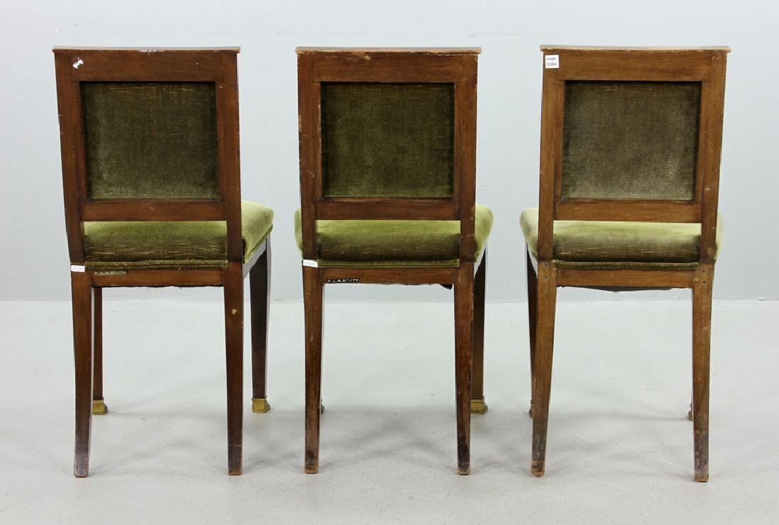 Three 19th C. French Empire Chairs - 2