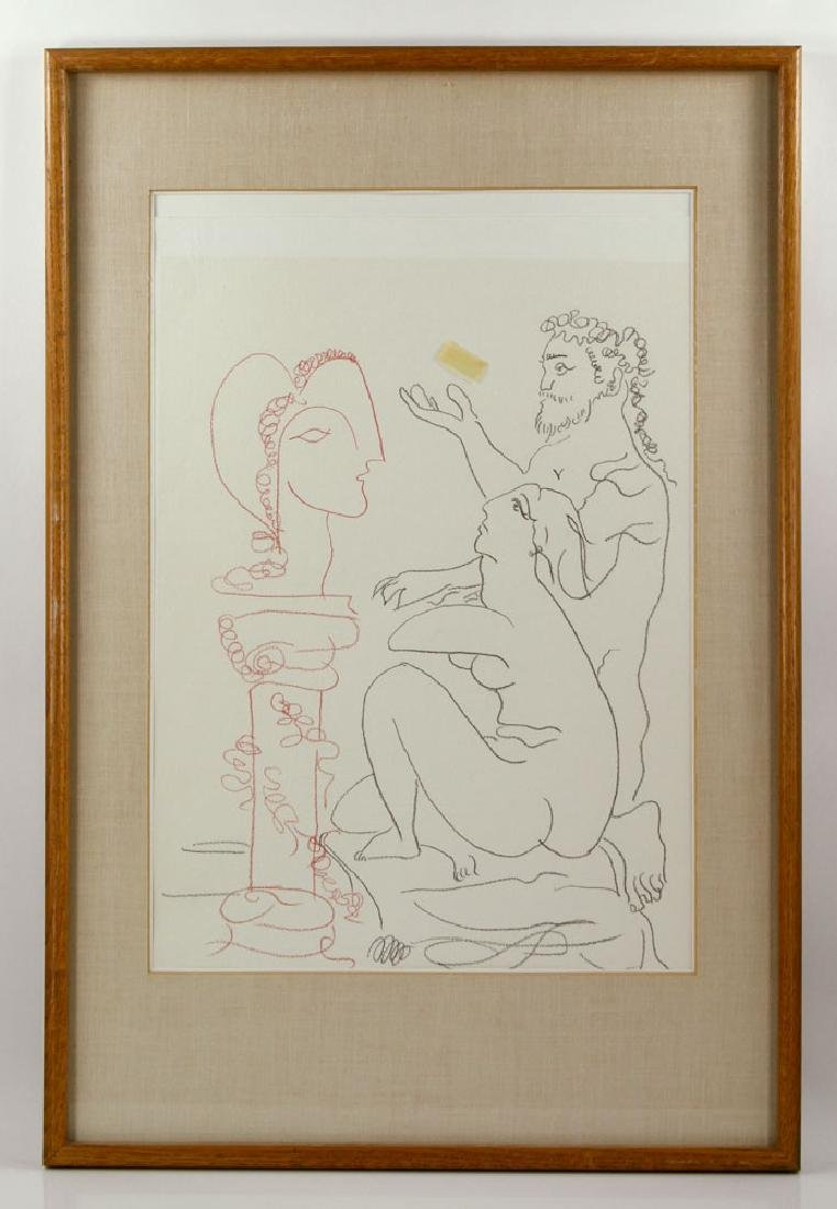 After Picasso, Line Drawing