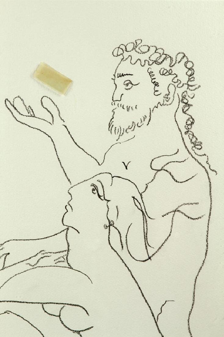 After Picasso, Line Drawing - 4
