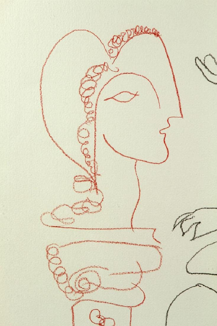 After Picasso, Line Drawing - 5